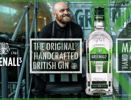 GREENALL'S HIGHLIGHTS ITS  THE ORIGINAL HANDCRAFTED BRITISH GIN