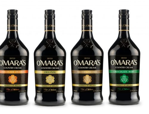 O'MARA'S PRESENTS 'O' SO SMOOTH' NEW LOOK AND FLAVOURS FOR IRELAND'S ICONIC COUNTRY CREAM