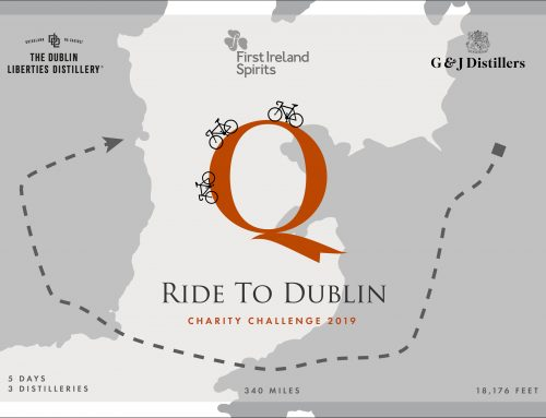 QUINTESSENTIAL BRANDS GETS INTO GEAR FOR 'THE ROAD TO DUBLIN' CHARITY BIKE RIDE