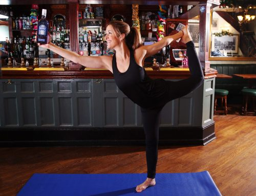 GET A #BITOFBALANCE THIS JANUARY WITH GIN YOGA