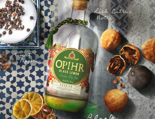 Shoppers in the UK can now get their hands on OPIHR Black Lemon – here's what to team the citrus and spice-led gin with